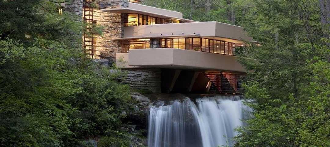 عکس خانه آبشار