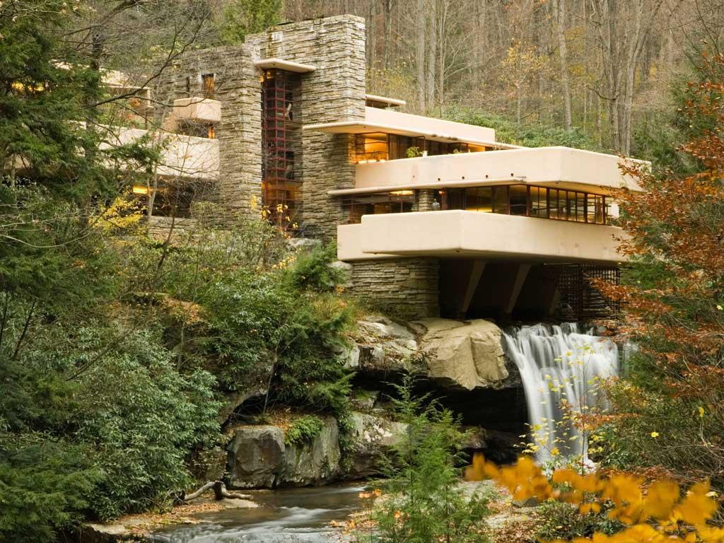 خانه آبشار فرانک لوید رایت