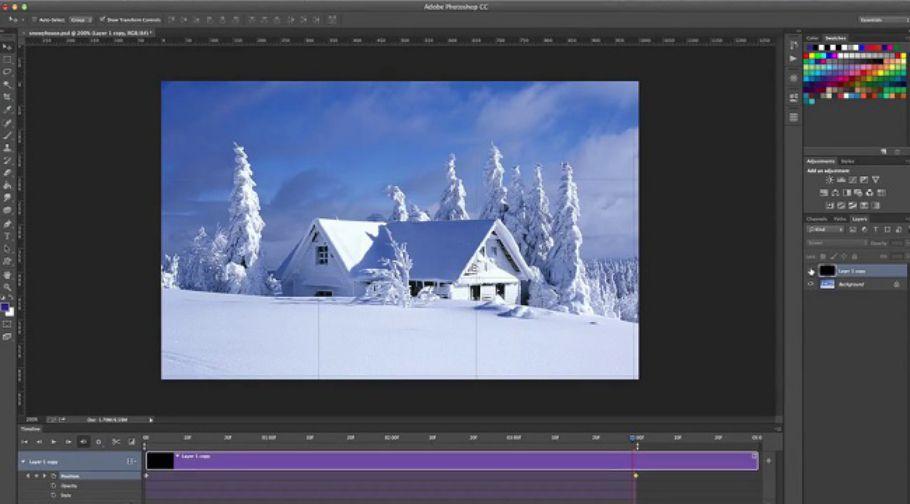 آموزش ساخت انیمیشن در فتوشاپ