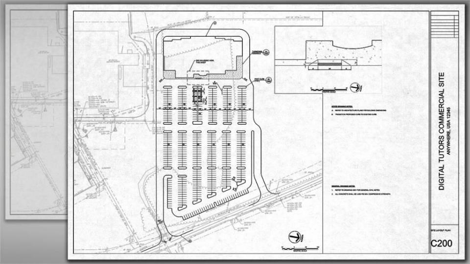 آموزش طراحی سایت پلان در اتوکد