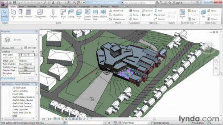 آموزش حرفه ای مدلسازی در Revit Architecture