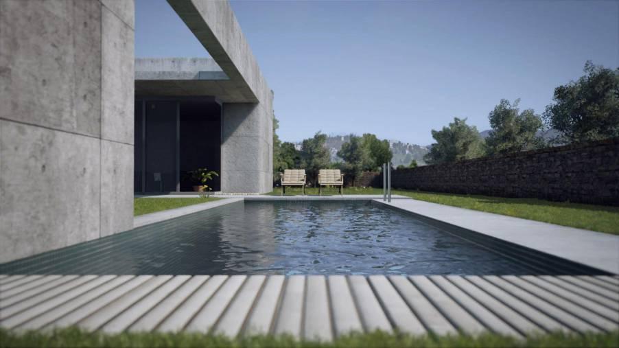 آموزش شبیه سازی معماری در Unreal Engine