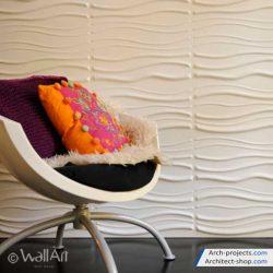 دانلود آبجکت تری دی پنل و دیوار پوش سه بعدی