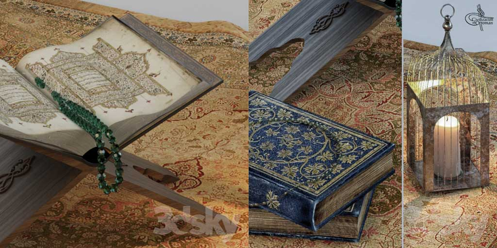 مدل سه بعدی قرآن