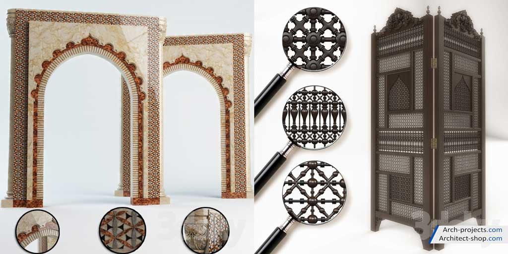 مدل سه بعدی اسلامی