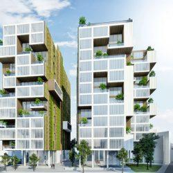 دانلود پلان و پروژه طراحی مجتمع مسکونی