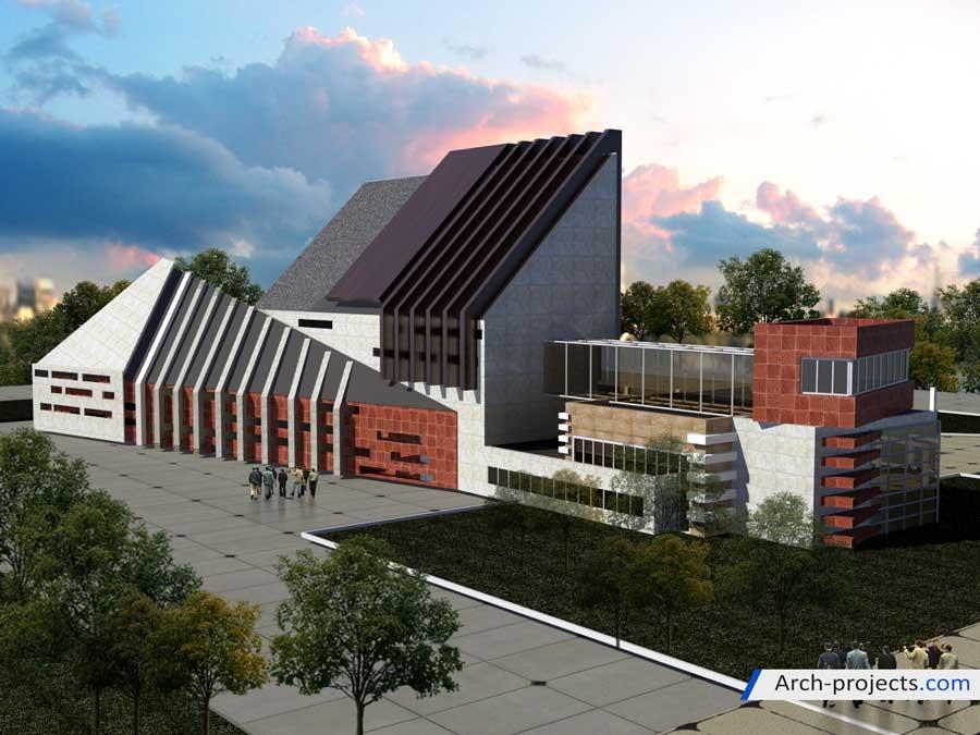 طراحی دانشکده فنی مهندسی
