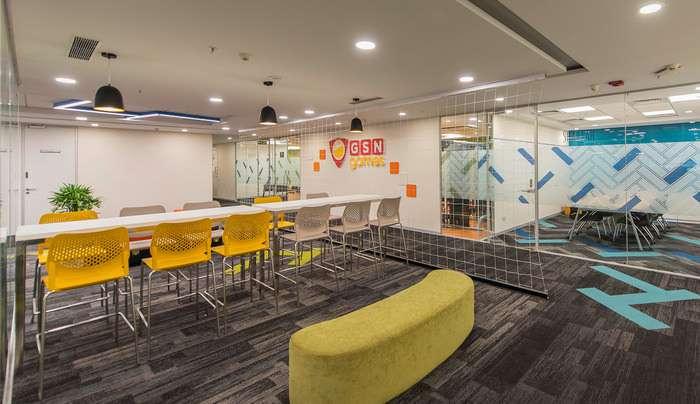 طراحی داخلی دفتر کار GSN