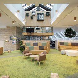 طراحی داخلی دفتر لینکدین – مونیخ آلمان