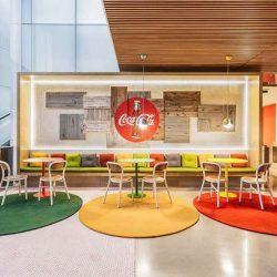 طراحی داخلی دفتر کار کوکاکولا – مادرید اسپانیا