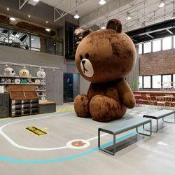 طراحی داخلی دفتر کار لاین – تایپه تایوان