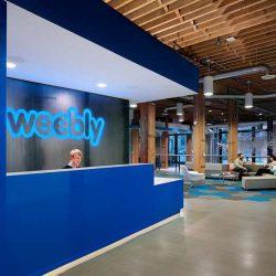 طراحی داخلی دفتر کار ویبلی – شعبه سان فرانسیسکو