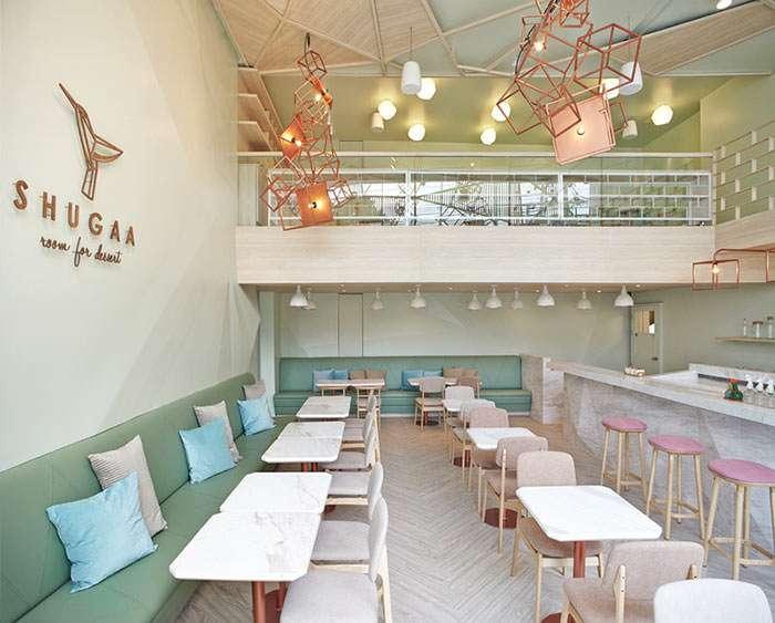 ایده طراحی کافه