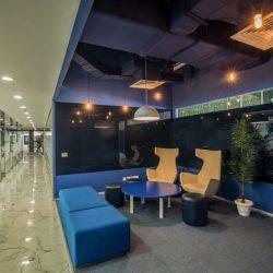 طراحی داخلی دفتر کار نیسان – شعبه گورگاون هند