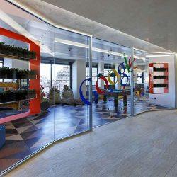 طراحی داخلی دفتر کار گوگل – ایتالیا