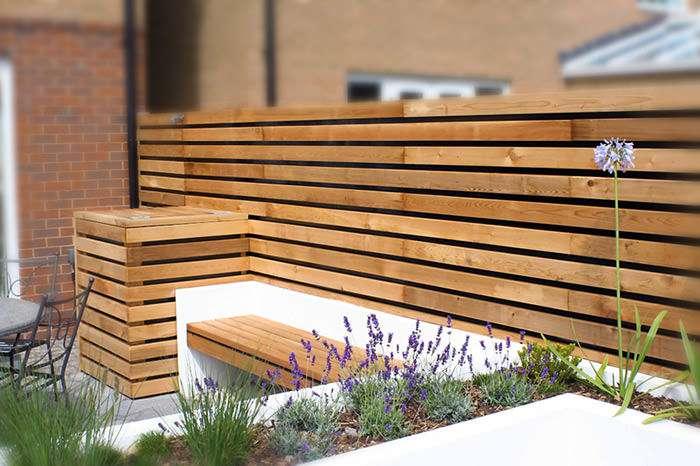 طراحی حیاط کوچک