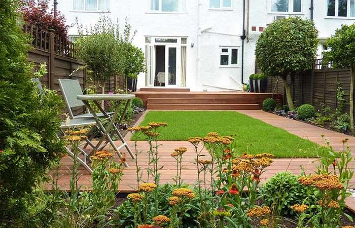 ایده طراحی حیاط