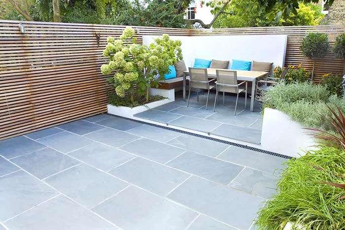 نمونه های طراحی حیاط کوچک