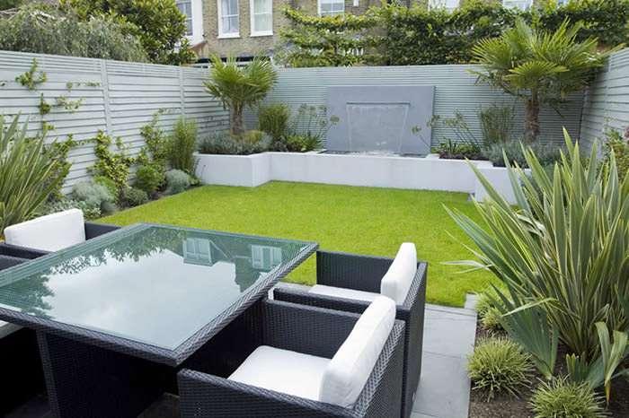 نمونه های طراحی حیاط