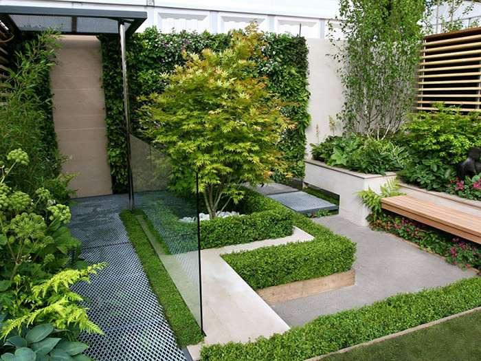 ایده های طراحی برای حیاط کوچک