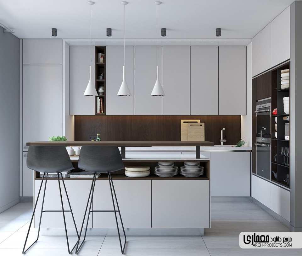 ایده طراحی آشپزخانه مدرن