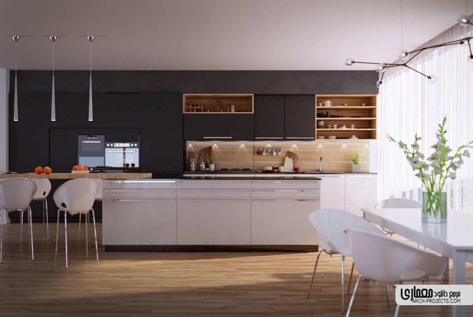 طرح آشپزخانه