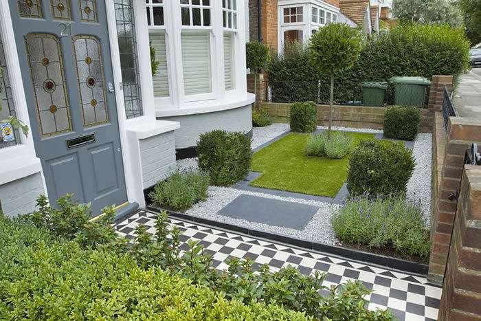 نمونه موردی طراحی حیاط
