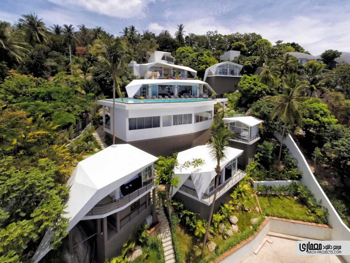 طراحی هتل Suan Kachamudee - تایلند
