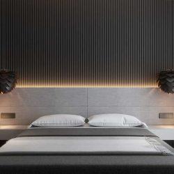 ایده های طراحی خانه با تم سیاه و خاکستری