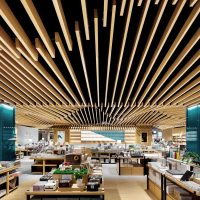 طراحی داخلی کتابفروشی یان جی یو