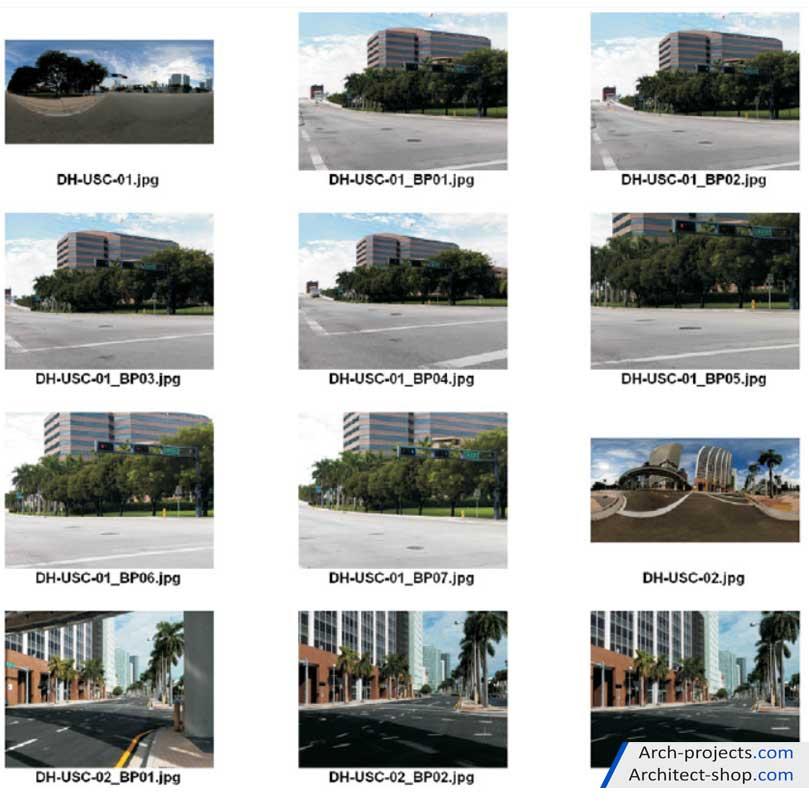 دانلود تصاویر hdri فضای شهری