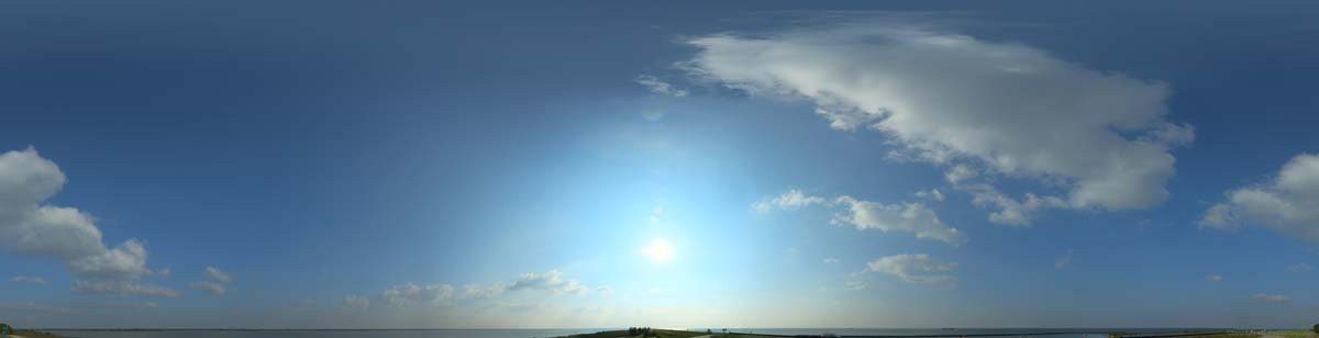 بک گراند آسمان آفتابی