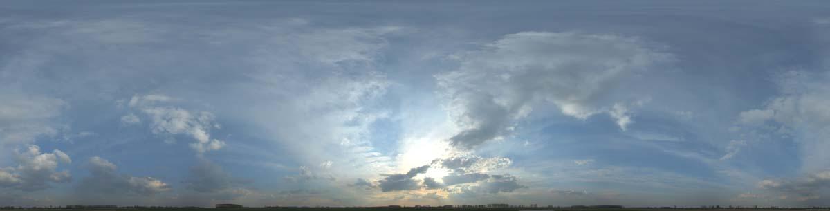 دانلود بک گراند آسمان نیمه ابری