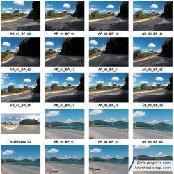 دانلود تصاویر hdri جاده و خیابان