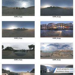 تصاویر HDRI با کیفیت از محیط های گوناگون