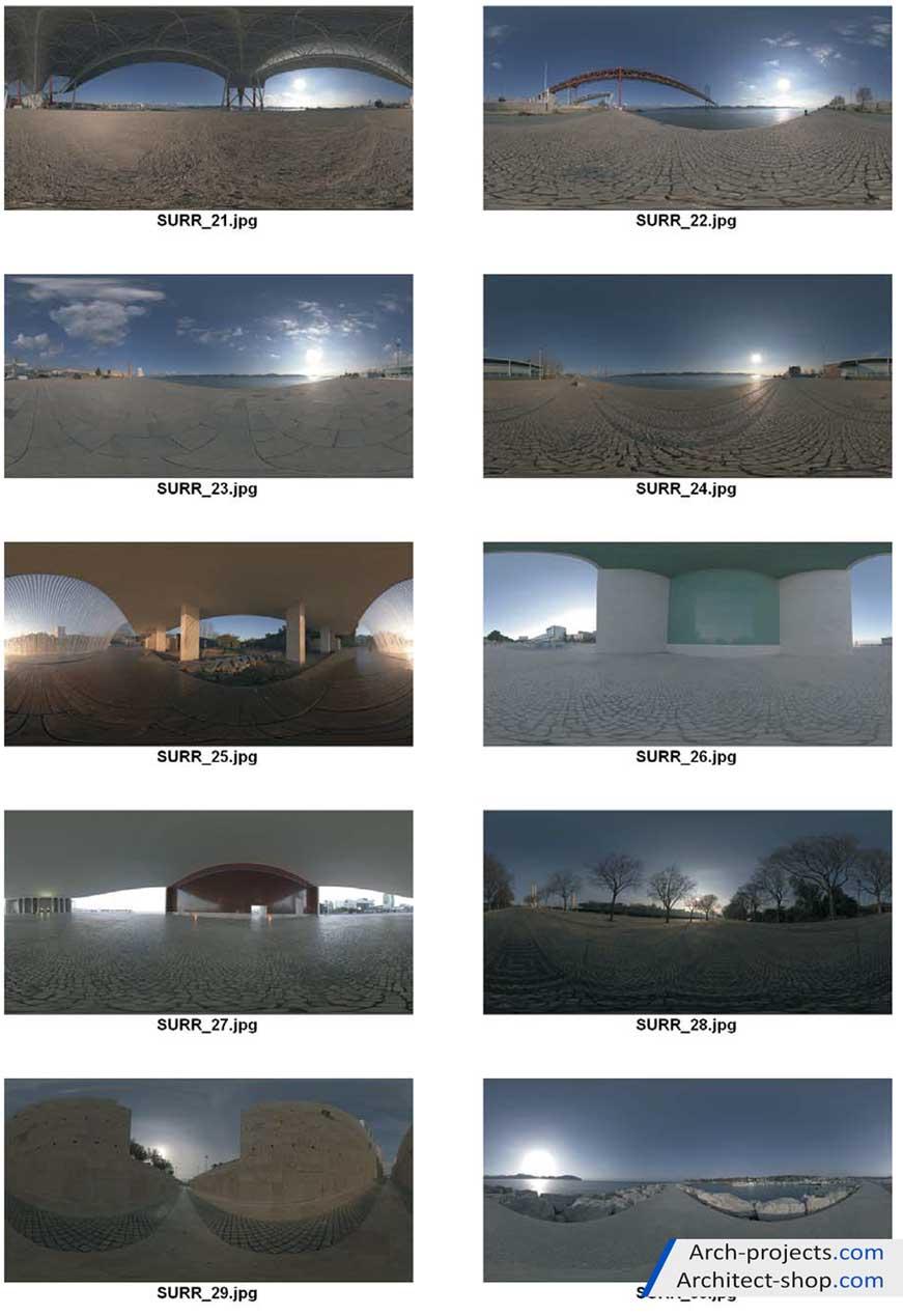 دانلود تصاویر HDRI با کیفیت