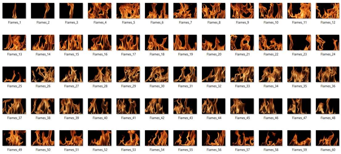 تکسچر آتش