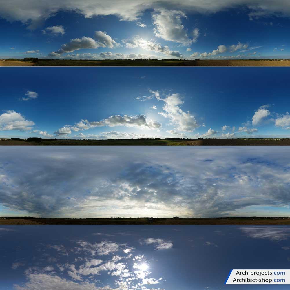 تصاویر hdri آسمان