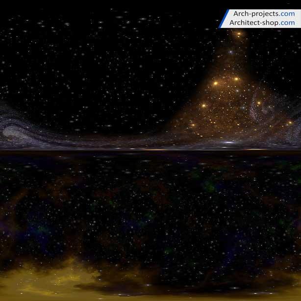 HDRI فضا