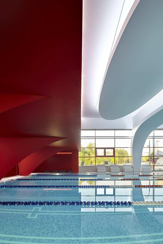 نمونه طراحی استخر شنا