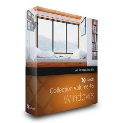 مدل سه بعدی پنجره از CGAxis
