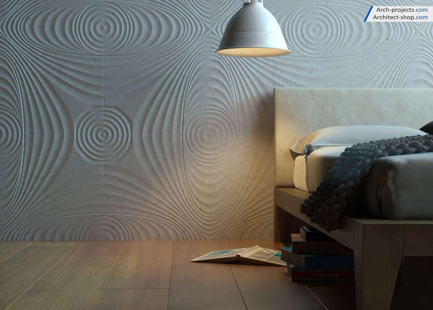 دانلود رایگان آبجکت دیوار پوش سه بعدی
