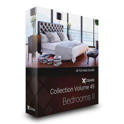 مدل سه بعدی تختخواب از CGAxis