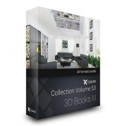 مدل سه بعدی کتاب از CGAxis