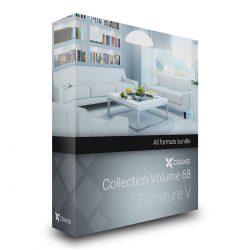 مدل سه بعدی مبلمان منزل از CGAxis