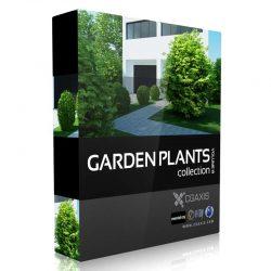 مدل سه بعدی گیاهان باغچه از CGAxis