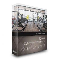 مدل سه بعدی لوازم ورزشی از CGAxis