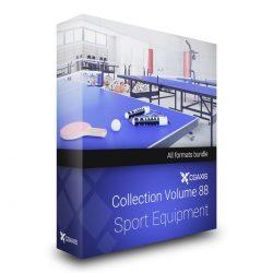 مدل سه بعدی تجهیزات ورزشی از CGAxis