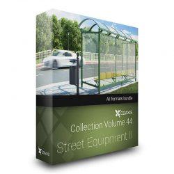 مدل سه بعدی لوازم ضروری خیابان از CGAxis