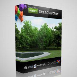 مدل سه بعدی درخت از CGAxis